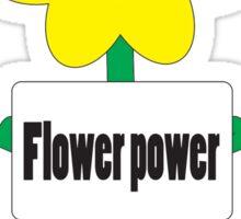 bad ass flower  Sticker