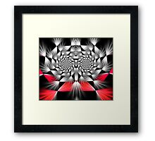 Check Mate Framed Print