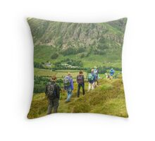 A Walk In The Park...A Sight For Sore Eyes Throw Pillow