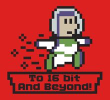 To 16Bit and Beyond One Piece - Short Sleeve
