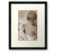 My favourite bear... Framed Print