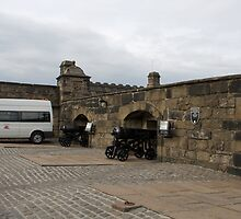 Van inside Edinburgh Castle by ashishagarwal74