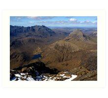 Blaven Summit View - Isle of Skye Art Print