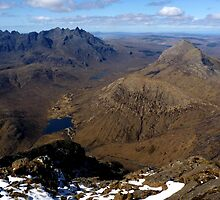 Blaven Summit View - Isle of Skye by Kat Simmons