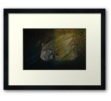 """""""Looking Through the Lattice""""  by Carter L. Shepard Framed Print"""