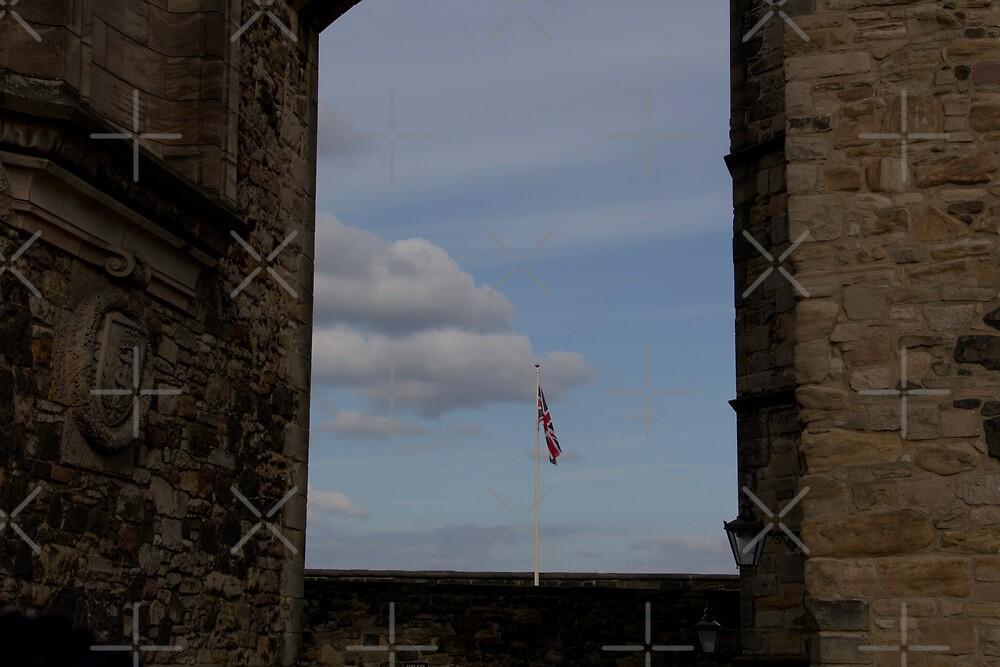 Union Jack at Edinburgh Castle by ashishagarwal74