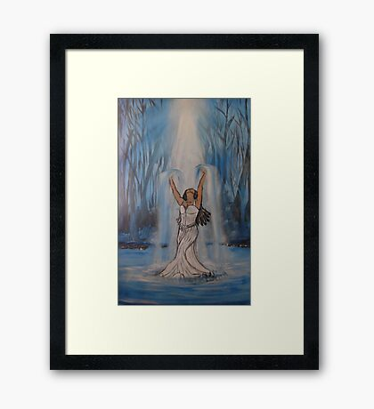 """Made Alive""  by Carter L. Shepard Framed Print"