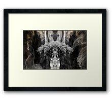 An Echo Inside Framed Print