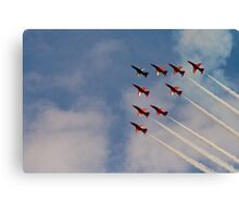 Red Arrows # 2 Canvas Print