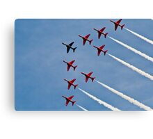 Red Arrows # 3 Canvas Print