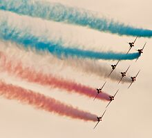 Red Arrows # 5 by Dale Rockell