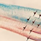 Red Arrows # 6 by Dale Rockell
