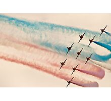 Red Arrows # 6 Photographic Print