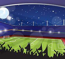 Soccer Stadium by Nick  Greenaway