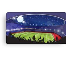 Soccer Stadium Canvas Print