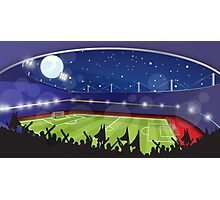 Soccer Stadium Photographic Print