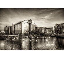 Wellingborough Embankment Photographic Print