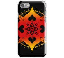 lianai hearts mandala iPhone Case/Skin