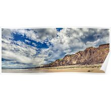 Seaham Moody Summer HDR Panorama Poster