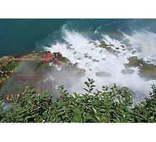 Niagara FAlls, Cave of the Winds walkway Photographic Print