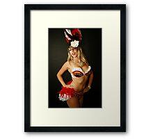 Burlesque Framed Print