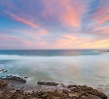 Pastel meets the sea by Maddison Falls