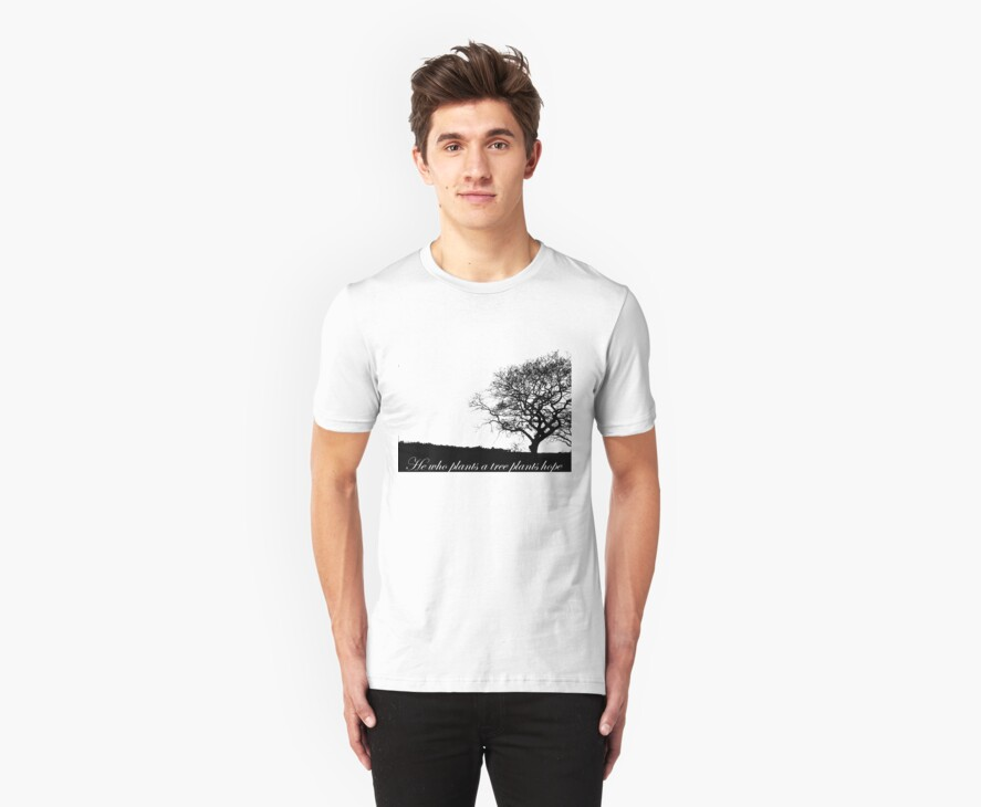 Tree T-shirt by Zozzy-zebra