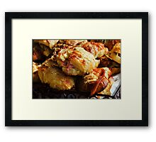 Bacon Rolls Framed Print