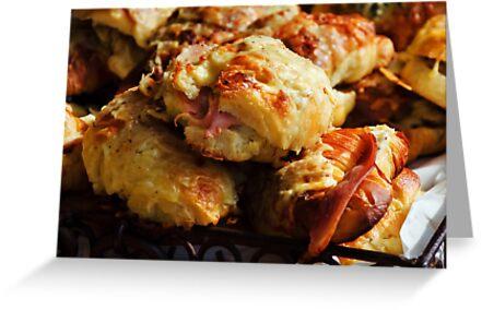 Bacon Rolls by Susie Peek