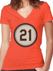 21 - Arriba (alt version) Women's Fitted V-Neck T-Shirt