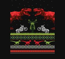 Dino Holiday Sweater Long Sleeve T-Shirt