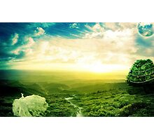 Beautiful fantasy scenery Photographic Print
