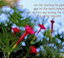 The Lord Reigneth - Daily Homework - Day 72 - July 20, 2012 by aprilann