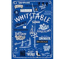 Hand-drawn Whitstable icons print Photographic Print