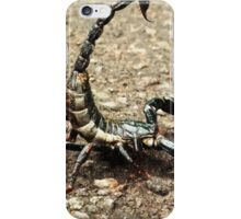 scorpion on the street  iPhone Case/Skin