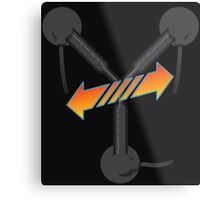 BTTF Trilogy  Metal Print