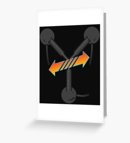 BTTF Trilogy  Greeting Card