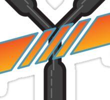 BTTF Trilogy  Sticker