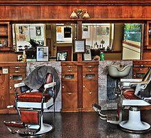 Ye Old Barber Shop by James Eddy