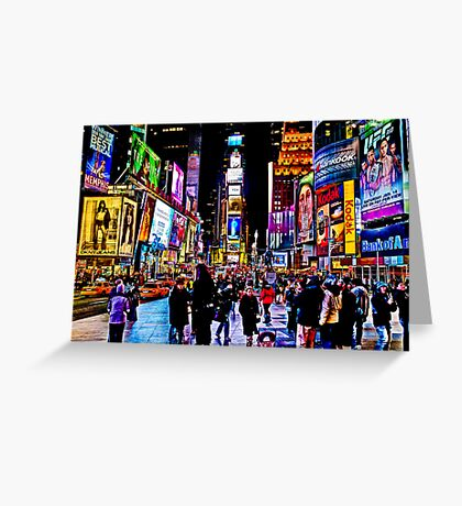 Go to Time Square ,Take a pic of me with a Leica  Greeting Card