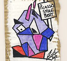 "Bert - ""Picasso Stole Bert"" by Richard Yeomans"