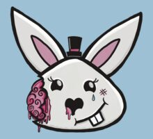 Bunny brains in formal wear Kids Clothes