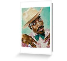 Andre 3000 Greeting Card