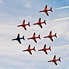 Red Arrows # 7 by Dale Rockell
