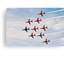 Red Arrows # 7 Canvas Print