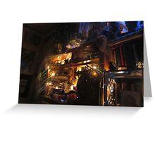 Illuminated Magic Altar  Greeting Card
