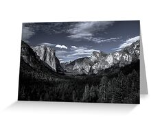 Tunnel View Greeting Card