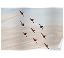 Red Arrows # 10 Poster