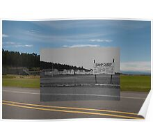 Looking into the Past: pre-1942-2010: Fort Casey Barracks Poster