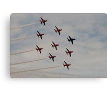 Red Arrows # 11 Canvas Print